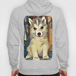 Siberian Husky Puppy Hoody