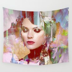 Vengeance of a betrayed woman Wall Tapestry