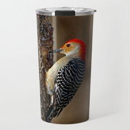 Red-Bellied Woodpecker Drumming Travel Mug