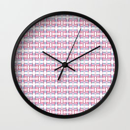 Pink Arizona Wall Clock