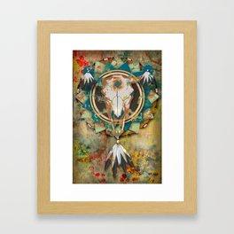 Digital Indian 1 Framed Art Print
