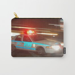 Police Speed Car Carry-All Pouch