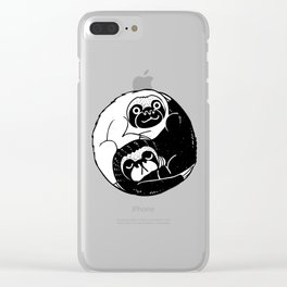 The Tao of Sloths Clear iPhone Case