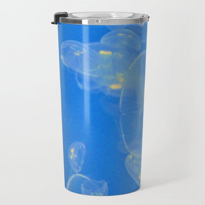 Jellies Jellyfish by Reay of Light Photography Travel Mug