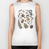 georgia Biker Tanks featuring Georgia Nature Walks by Jessica Roux
