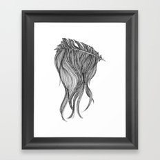 Hear hear Framed Art Print