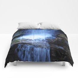 Fonias River Samothrace Greece Comforters