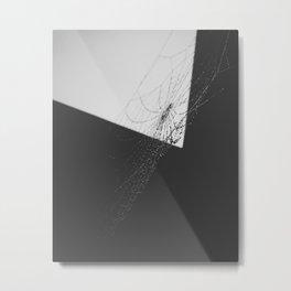 Crystallised Metal Print