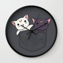 Pocket Kitties Wall Clock