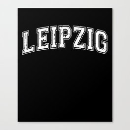 Leipzig City in Germany Canvas Print