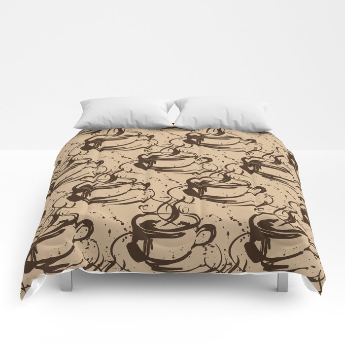 Java Love 1B by Kathy Morton Stanion Comforters