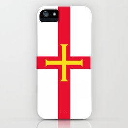 flag of Guernsey iPhone Case
