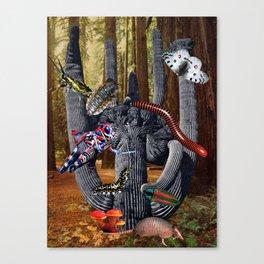 Creepy Crawlers Canvas Print