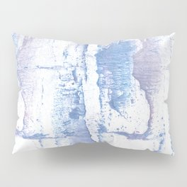 Lavender blurred watercolor design Pillow Sham
