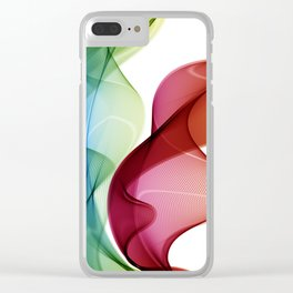 Colorful powder paint. Holi festival background. Clear iPhone Case