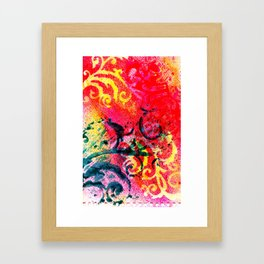Flourish Framed Art Print