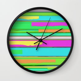 Side streets 2 Wall Clock
