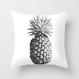 Vintage Pineapple Throw Pillow