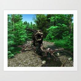 Tyrannosaurus Rex 4 Art Print