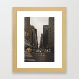 Avenue of the Americas Framed Art Print