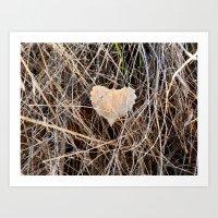 Love in Utah Art Print