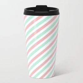 Candycane Metal Travel Mug