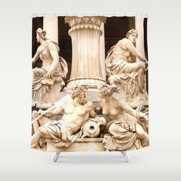 Beautiful Sculptures #decor #society6 Shower Curtain