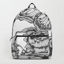 Fluttering Ink II Backpack