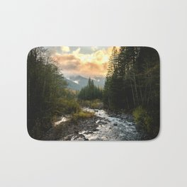 The Sandy River I - nature photography Bath Mat