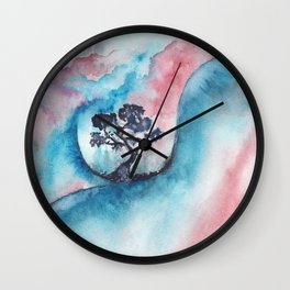 Abstract nature 02 Wall Clock