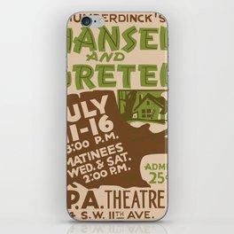 Hansel and Gretel iPhone Skin