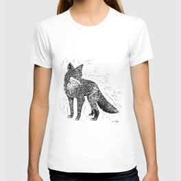 Fox Linoprint T-shirt