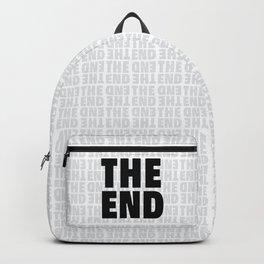 The End Black Backpack