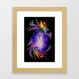 Heavenly apparition 4 Framed Art Print