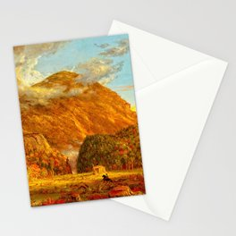 A View of the Mountain Pass Stationery Cards
