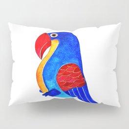 Colorful parrot Pillow Sham