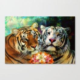Tiger Lillies Canvas Print