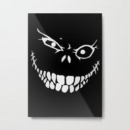 Crazy Monster Grin Metal Print