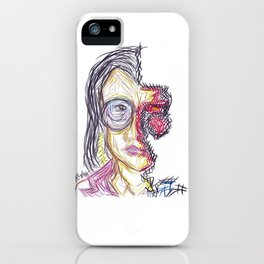 Torn by Riendo iPhone Case