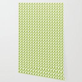 Green waves Wallpaper