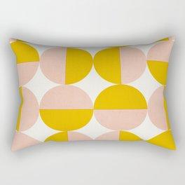 Abstraction_Circles_Art Rectangular Pillow
