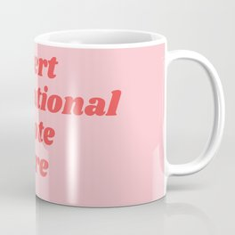 inset inspirational quote here Coffee Mug