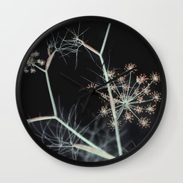 Night Whispers Wall Clock