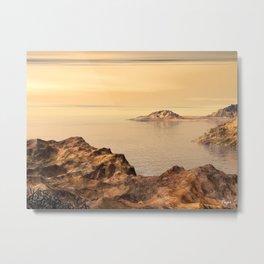 Baja Bay Metal Print