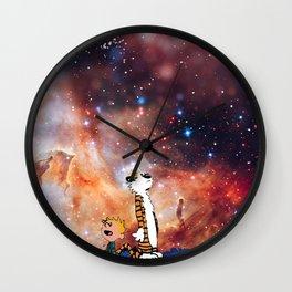 Calvin And Hobbes Nebula Wall Clock