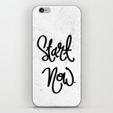 Start Now.  iPhone & iPod Skin