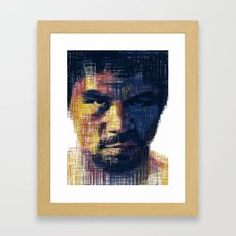 Manny Flag Framed Art Print