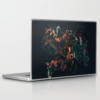 diver Laptop & iPad Skins featuring Space Diver by dan elijah g. fajardo