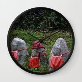 Three Tiny Guardians Wall Clock