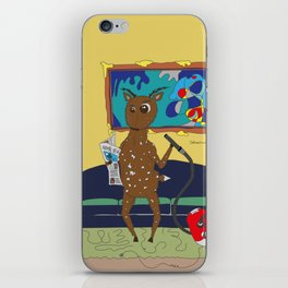 Diego the Deer Cleans Up iPhone Skin